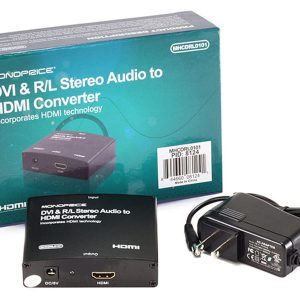 Конвертер DVI & R/L Stereo Audio to HDMI
